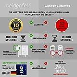 Heidenfeld Infrarotheizung HF-HP100 800 Watt Weiß - inkl. Thermostat - 10 Jahre Garantie - Deutsche Qualitätsmarke - TÜV GS - Für 12-19 m² Räume (HF-HP100 800 Watt) - 5