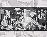 YUHHGFK DIY Pintura por Números Patrón Abstracto Retro Pint por Número de Kits con Pinceles y Pinturas para Adultos, niños y Principiantes Decoraciones Hogar - 40 X 50 cm (Sin Marco)