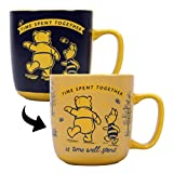 Half Moon Bay MUGBWP01 300ml Tazza per Il Cambio di Calore Winnie The Pooh - Pooh & Piglet