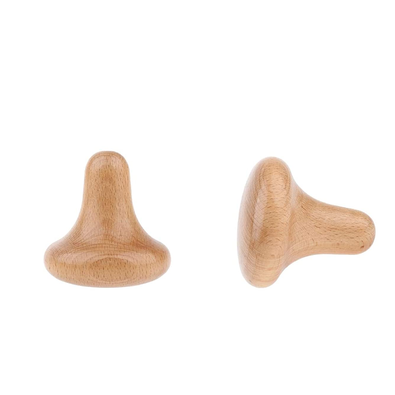 シロナガスクジラ気付く性的sharprepublic ボディマッサージ 木製 トリガーポイント のきのこ形 痛み軽減 高齢者 年長者
