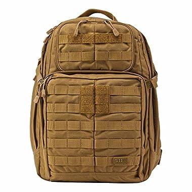 5.11 RUSH24 Tactical Backpack, Medium, Style 58601, Flat Dark Earth