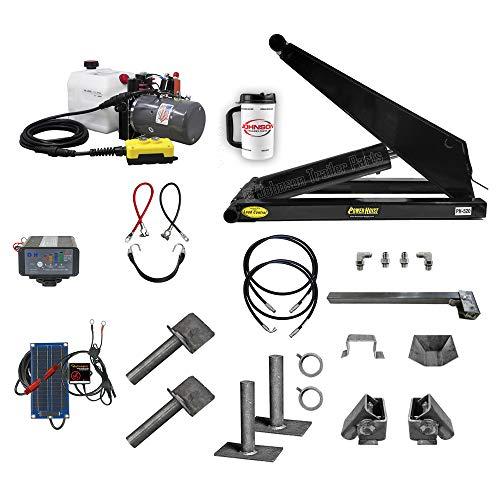 10 Ton (20,000 lb) Dump Trailer Hydraulic Scissor Hoist Kit | PH520 | Perfect for Dump Bed Trailers (Premium)