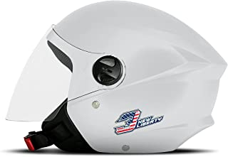 Capacete New Liberty Three Elite Branco Brilhante TAM. 58 CAP-708PW Pro Tork