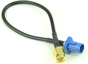 RF design RF Pigtail Cable Blue Fakra C Male to SMA Male Connector RG174 6'' for GPS Antenna