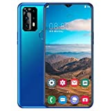 LQIQI p40pro Smartphones Water-Drop Screen 4000mAh Batería 6.7 Pulgadas WiFi 6G+128G Doble SIM