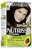 Garnier Nutrisse Creme Coloration Espresso Dunkelbraun 30 / Färbung für Haare für permanente...