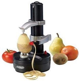 Maquina Peladora De Automático Máquina De Pelar Patatas Fruta Manzana Multifunción Eléctrico Pelador De Frutas Pelador