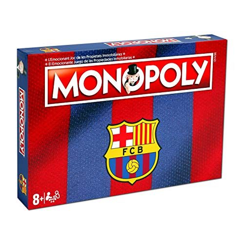 Oferta de Winning Moves Monopoly Fc Barcelona (10537), multicolor (ELEVEN FORCE