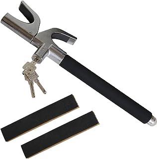 $26 » AYSUM Car Steering Wheel Lock Universal Car Lock Anti-Theft Retractable Steering Lock with Escape Hammer Window Breaker an...