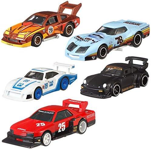 Hot Wheels Car Culture Super Silhouettes Premium Cars Set | Mattel FPY86, Vehicle:Set of 5