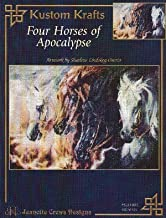 Four Horses of Apocalypse (Jeanette Crews Designs Cross Stitch Horse Pattern, #SLO003)