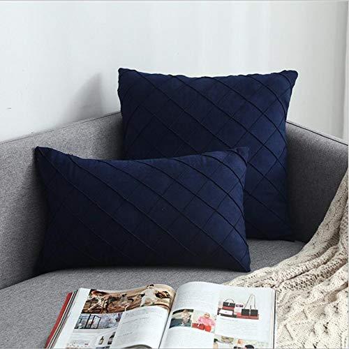 SDCVRE Kissenbezug 2 Packungen Moderne Streifen-Kissenbezüge für Couchbett 30x50 45x45 Dekorative Kissenbezüge Hüllen Sofa Kissenbezug, 46,30CM X 50CM, 1 Stück