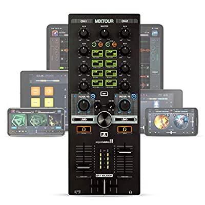 Reloop Mixtour Portable USB All-in-One DJ Controller black