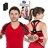 Posture Corrector for Women and Men - Best Fully Adjustable Upper Back Brace Trainer - Improves Slouching and Hunched Shoulders - for Maximum Support