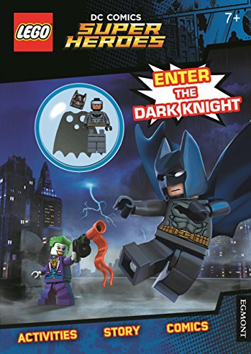 LEGO® DC Comics Super Heroes: Enter the Dark Knight (Activity Book with...