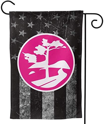 FairyLi Tuinvlaggen Versleten Usa Vlag Mount Desert Island Welkom Grote Yard Dubbelzijdige Huis Vlag Banners Voor Patio Gazon Thuis Outdoor Decor 12.5X18In 28X40In 28x40inch Als afbeelding