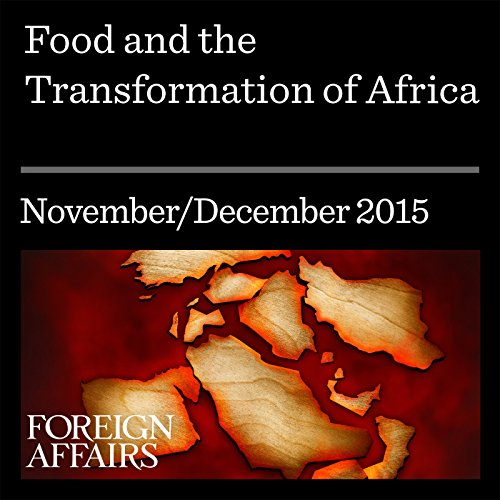 Food and the Transformation of Africa audiobook cover art