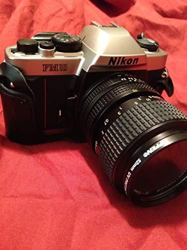 Nikon FM-10 35mm SLR Camera Kit with 35-70mm F3.5-4.8 Zoom Lens & Camera Case