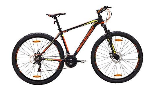 Hero Doran Men's Steel 29T 21 Speed Mountain Bicycle (Black)