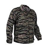 Rothco Camo BDU (Battle Dress Uniform) Military Shirts, Tiger Stripe Camo, S