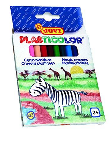 Jovi - Plasticolor, estuche con 12 surtidas (913)