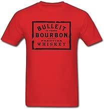 Newm Men's Bulleit Bourbon Logo O Neck Short Sleeve T Shirt
