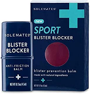 Solemates Anti Friction Balm - Blister Blocker – Natural, Unscented, Long Lasting Chafing Relief – Cruelty Free – Travel Friendly – Hypoallergenic (1 Pack)