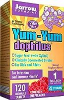 海外直送品Jarrow Formulas Yum Yum Dophilus, 120 Caps 1 BILLION ORGANISMS PER 2 CAP