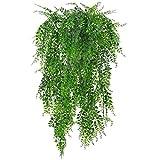 Dorime 1 Manojo de 75cm Artificial Sauce llorón Planta de Hiedra decoración Colgante de Interior al Aire Libre
