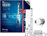 Oral-B Genius 8200 Elektrische Zahnbürste, mit Smartphone-Halterung und drei Aufsteckbürsten,...