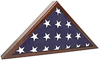 Flag Case for Veteran Funeral handsomely constructed SpartaCraft Cherry Flag Case