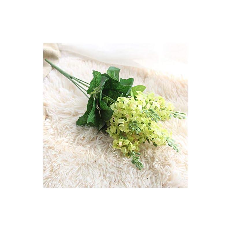 silk flower arrangements artificial and dried flower 5pcs artificial silk hyacinth flower home garden table wedding flower bouquet party office decorative bouquet home decorations - ( color: 4 )