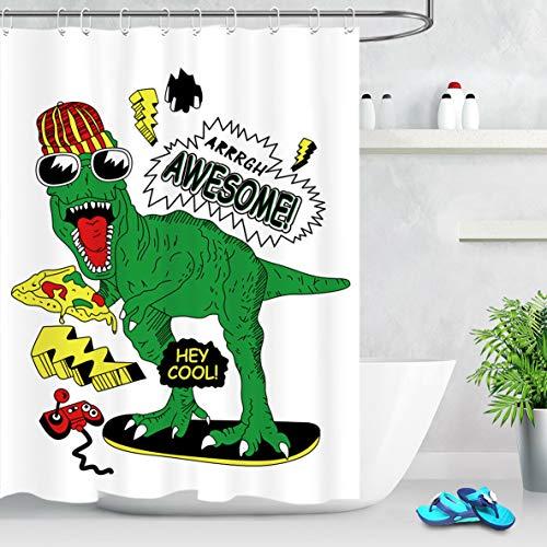 cortinas baño dibujos animados
