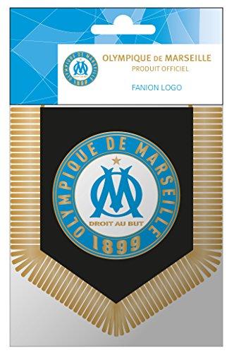 De gouden veer 163oma408fan Wimpel Logo hantag nylon meerkleurig 13 x 0,2 x 16 cm