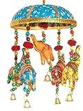 Decoración colgante de la India con un elefante...