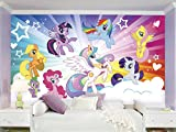 RoomMates My Little Pony Cloud  Removable Wall Mural - 10.5 feet X 6 feet