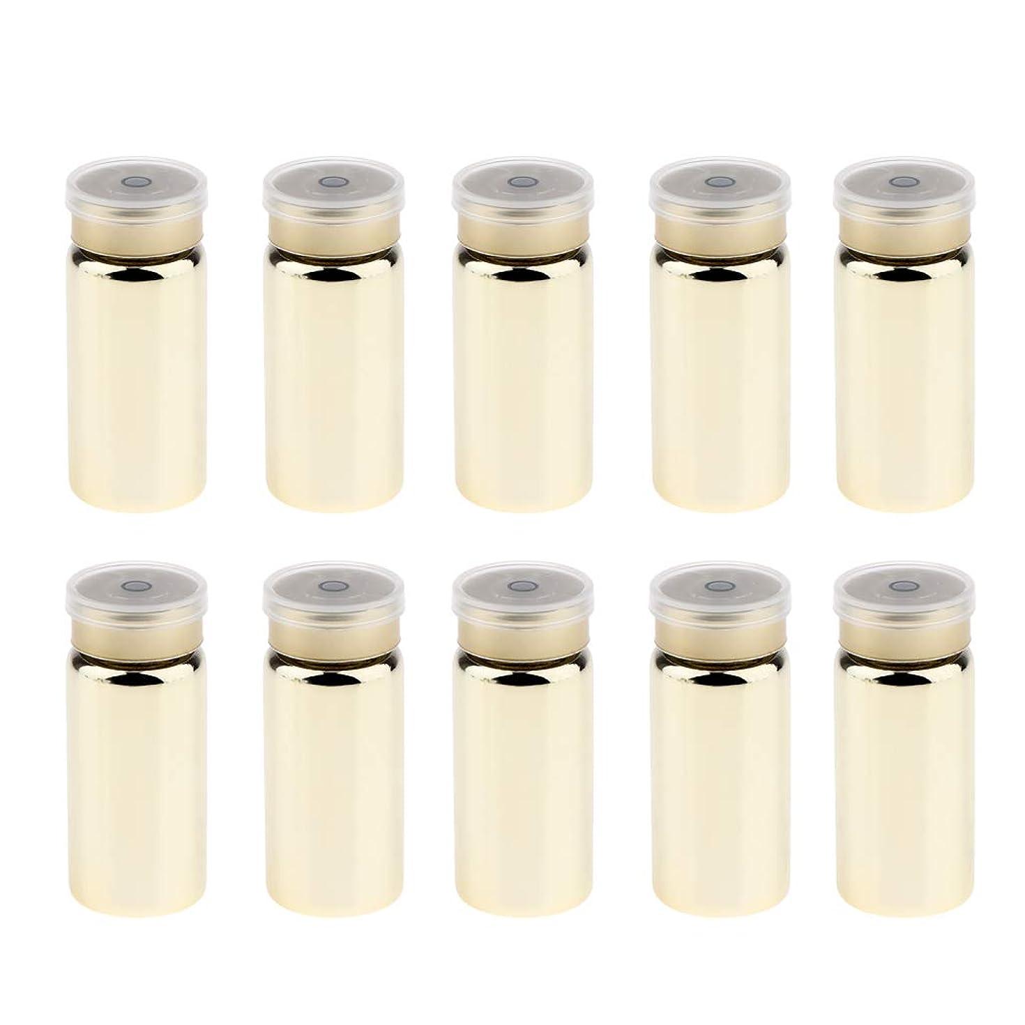 シンプルさに応じてキャラクターB Blesiya 10個 詰替え容器 空 シールボトル 粉末容器