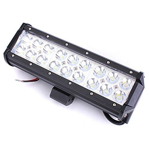 MASUNN 54W 18LEDs Voiture de Travail Light Bar Spot lumière Blanc projecteur Lampe