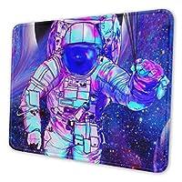 宇宙 飛行士 マウスパッド 20 X 24cm 滑り止め 防水 おしゃれ 洗える ビジネス用 家庭用 ゲーム用