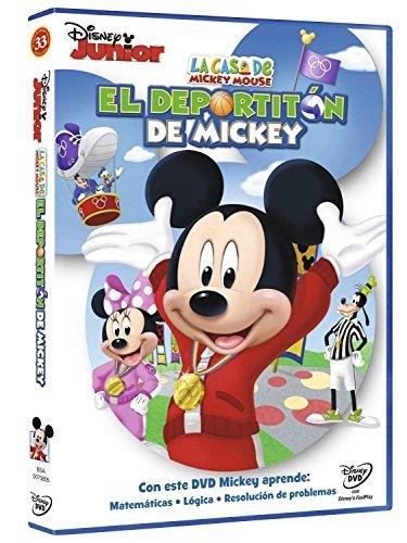 La Casa De Mickey Mouse: El Deportitón De Mickey [DVD]