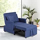 OQQOEE Chair Beds Sleeper, Pull Out Sleeper Chair, Convertible Chairs into Beds...