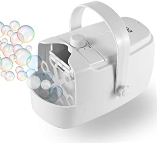 Easycel Automatic Bubble Machine, Portable Auto Bubble Blower, Durable Bubble Maker for Outdoor and Indoor Use, Powered by...