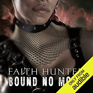 Bound No More     A Jane Yellowrock Novella              Written by:                                                                                                                                 Faith Hunter                               Narrated by:                                                                                                                                 Khristine Hvam                      Length: 2 hrs and 55 mins     3 ratings     Overall 5.0