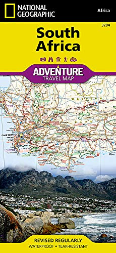 Südafrika: NATIONAL GEOGRAPHIC Adventure Maps
