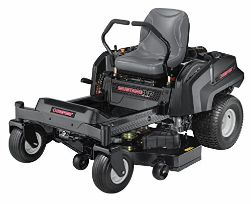 Troy-Bilt Super Mustang XP Riding Lawn Mower with 50-Inch Deck and 724cc Briggs & Stra