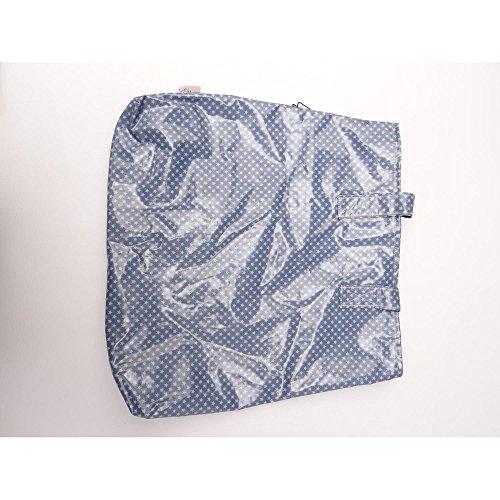 A.U MAISON Schulter Tasche, Beutel Sternchen & Libellen, blau, 41x38cm