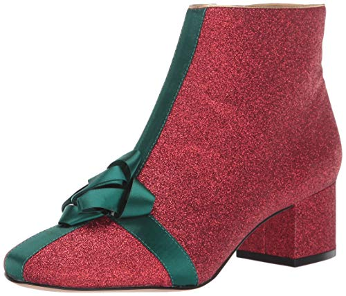 Katy Perry Women's The GIFTER Ankle Boot, Red, 9.5 M Medium US