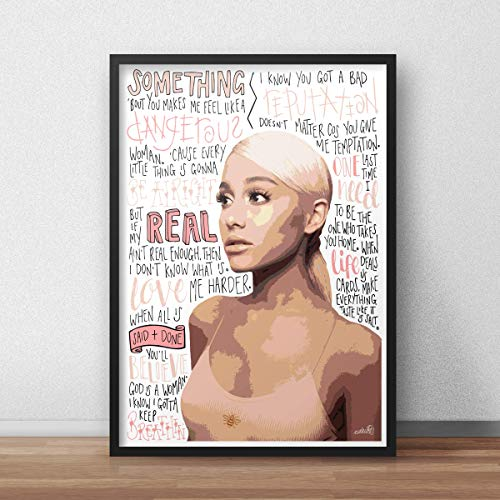 Ariana Grande INSPIRED Poster/Print