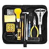 Baban 168 PCS Kit de reparación de relojes, kit de herramientas para relojes Professional Spring Bar