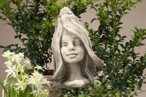 Blumenkind 'Schneeglöckchen', Betonguss, 21,5 cm